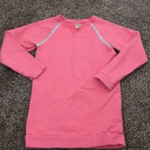 Oshkosh Girls Coral Sweatshirt Tunic